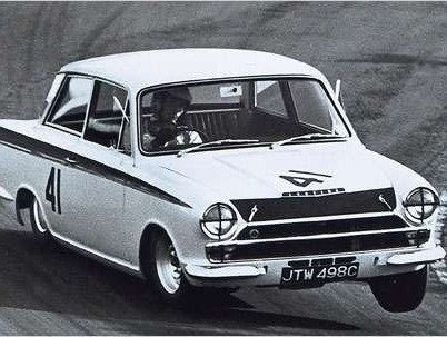 jim clark in lotus cortina