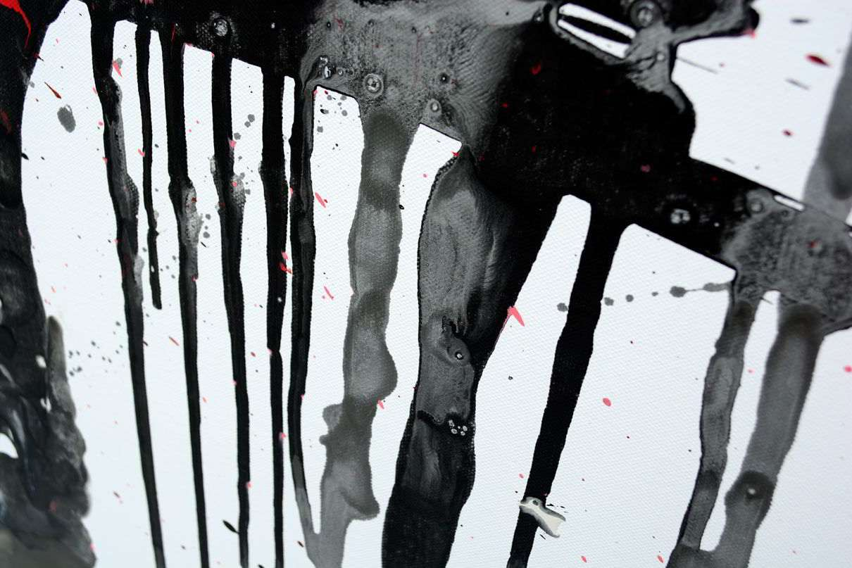 black-paint-running-into-drips