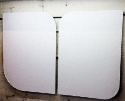 rhomboid shapes canvases