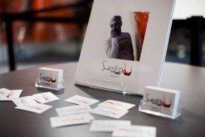 Business cards and my book