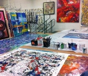 Swarez art studio from 2012