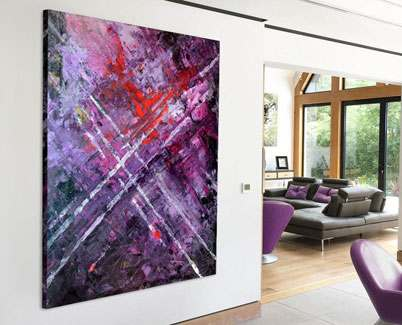 purple-art-in-living-space