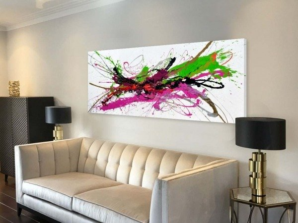 La Dolce Vita abstract art by Swarez