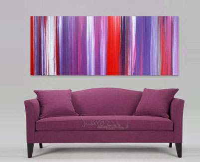Pink-and-purple-abstract-art