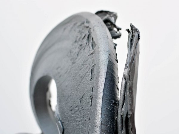 Aluminium oval sculpture (3)