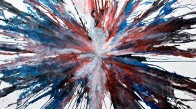 Hope and Glory abstract art