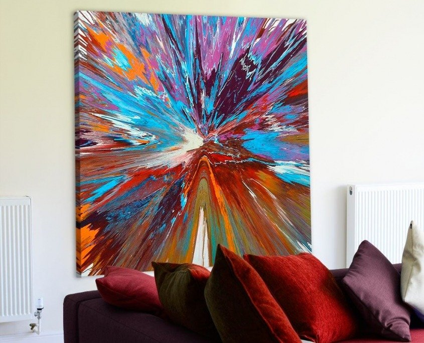 Large-square-abstract-art