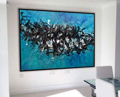 ocean-blue-large-art-in-kitchen