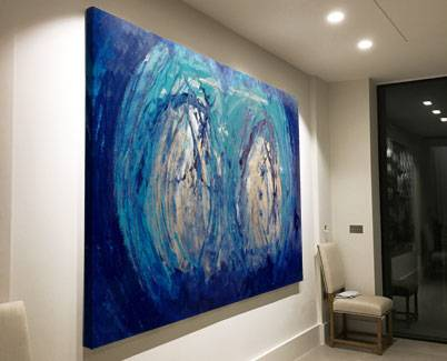 large-blue-and-gold-abstract-painting