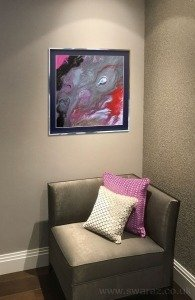 small-pink-painting-on-a-wall