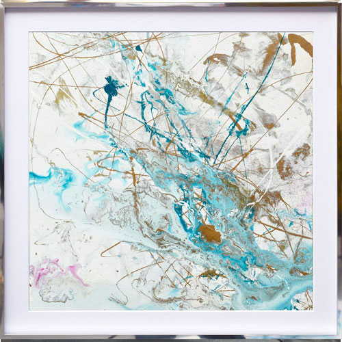 turquoise-and-white-square-painting