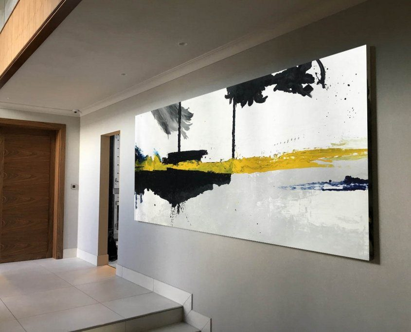 very big minimal abstract painting