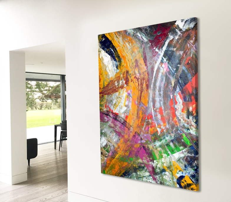 colourful-art-in-open-plan-space