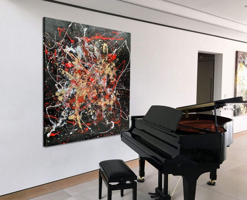 red-black-white-abstract-art-painting-by-piano