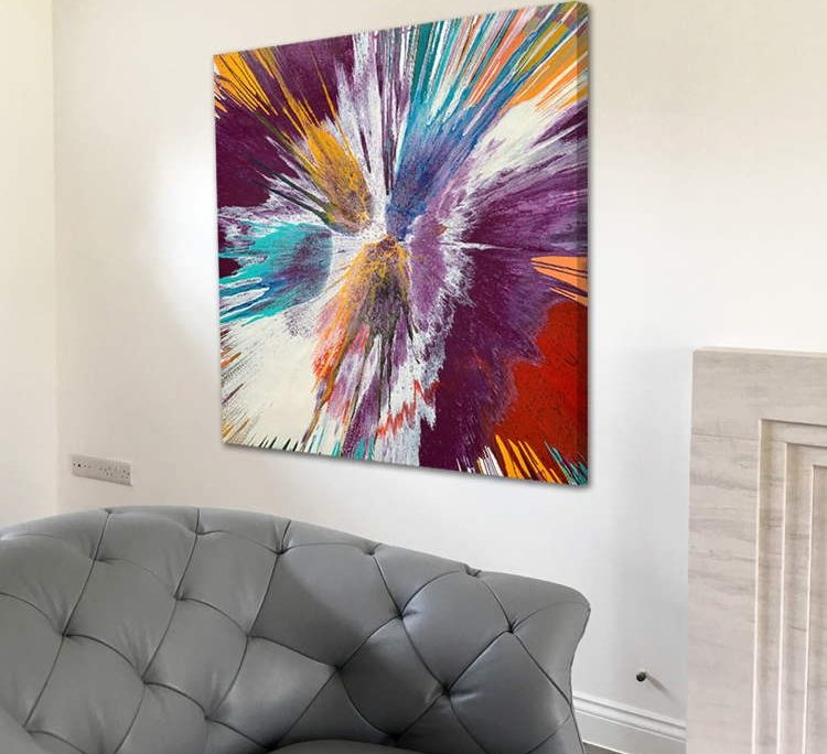 contemporary painting called Vibrasphere
