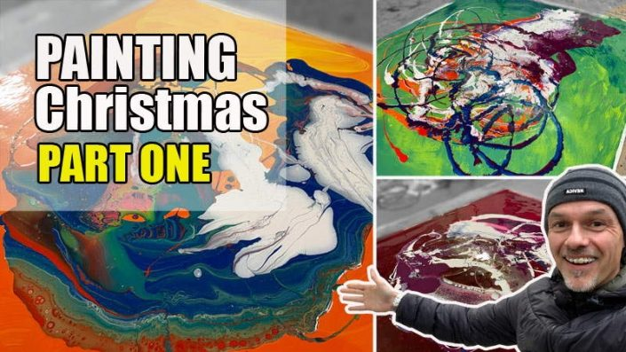Painting the 12 days of Christmas