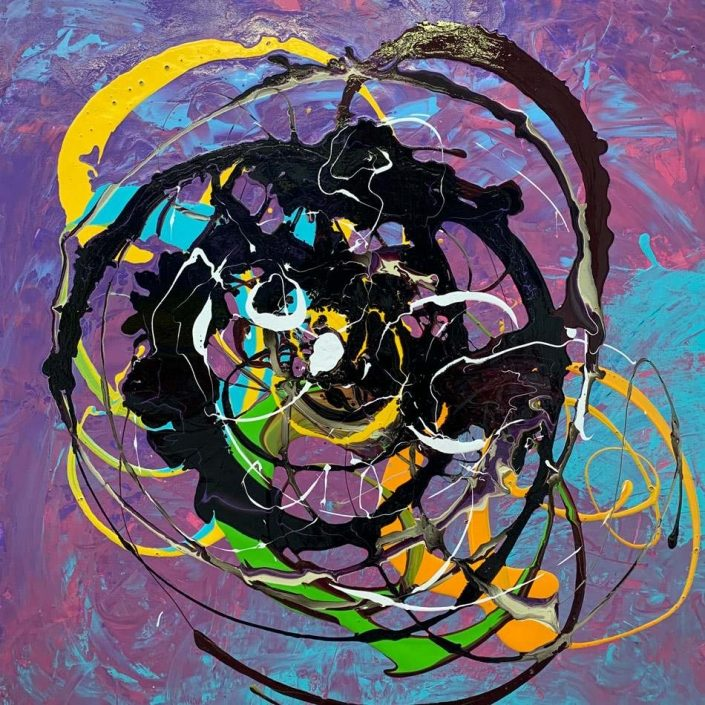purple-black-and-yellow-abstract-art-painting