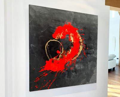 red-black-painting