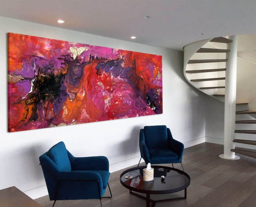 purple-and-red-abstract-art-in-large-space