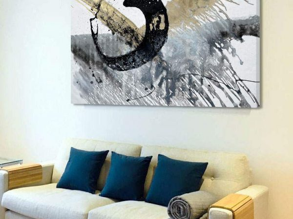 black-and-gold-coloured-art-in-living-space
