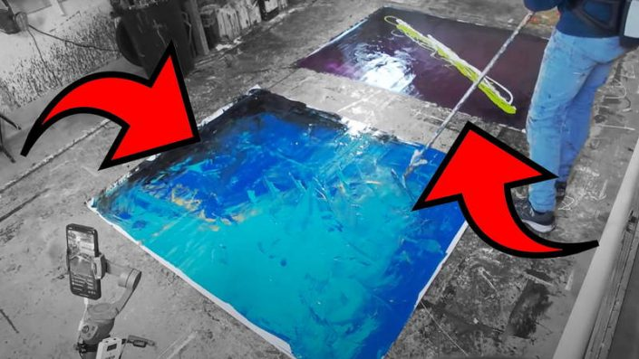 live-stream-painting-two-canvases