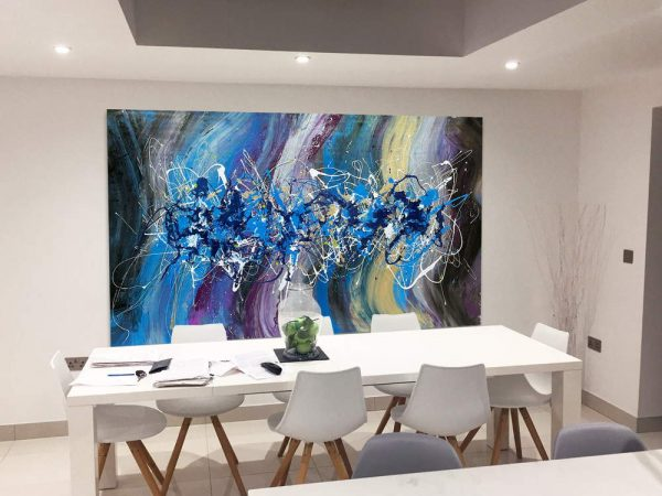 big art for a dining room