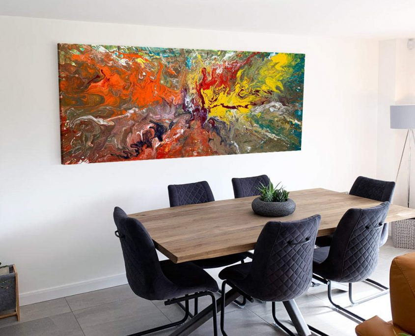 art to go above a dining table