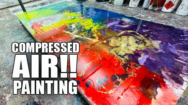 PAINTING-WITH-COMPRESSED-AIR