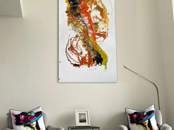 portrait style contemporary painting