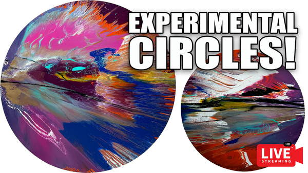 CIRCULAR SPIN PAINTNGS